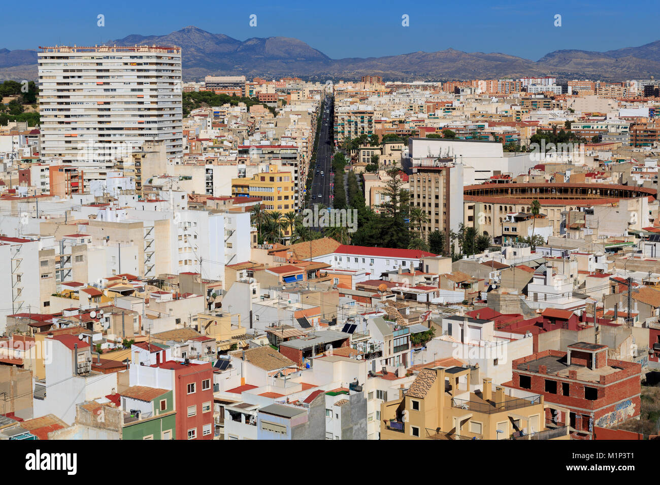 City of Alicante, Spain, Europe - Stock Image