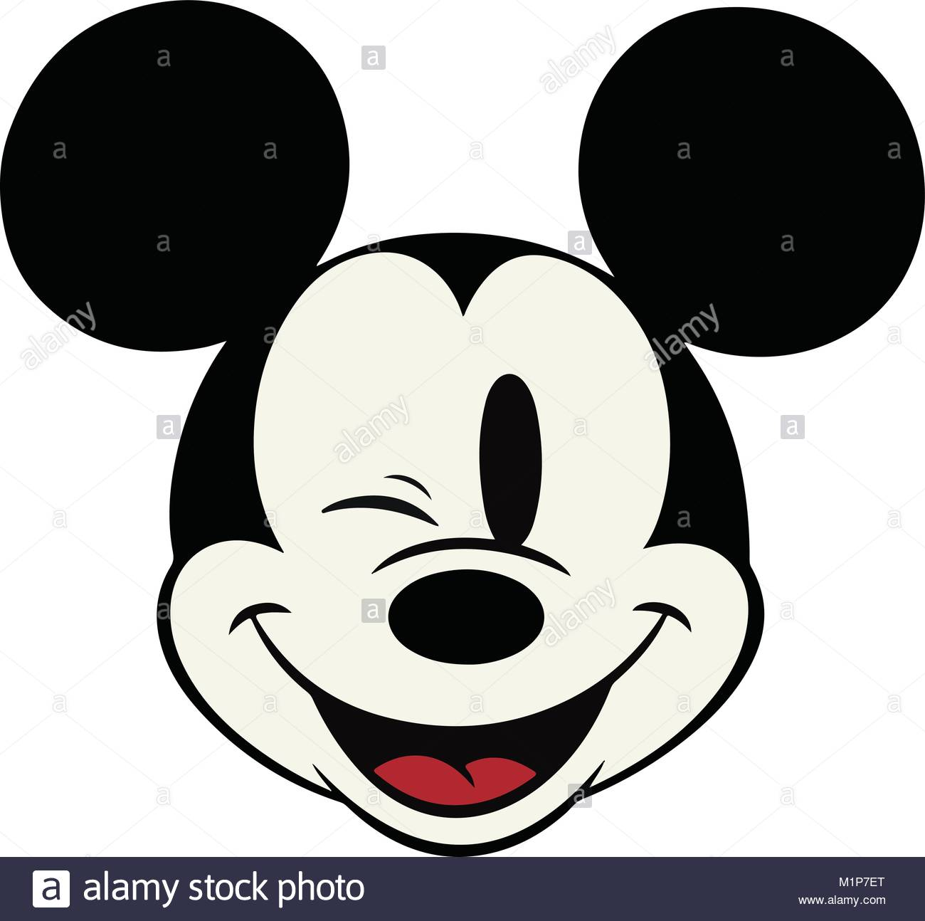 mickey mouse can be printedrescaled to any size scalable vector