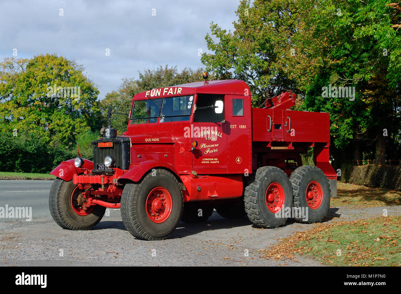 Scammell Pioneer truck - Stock Image