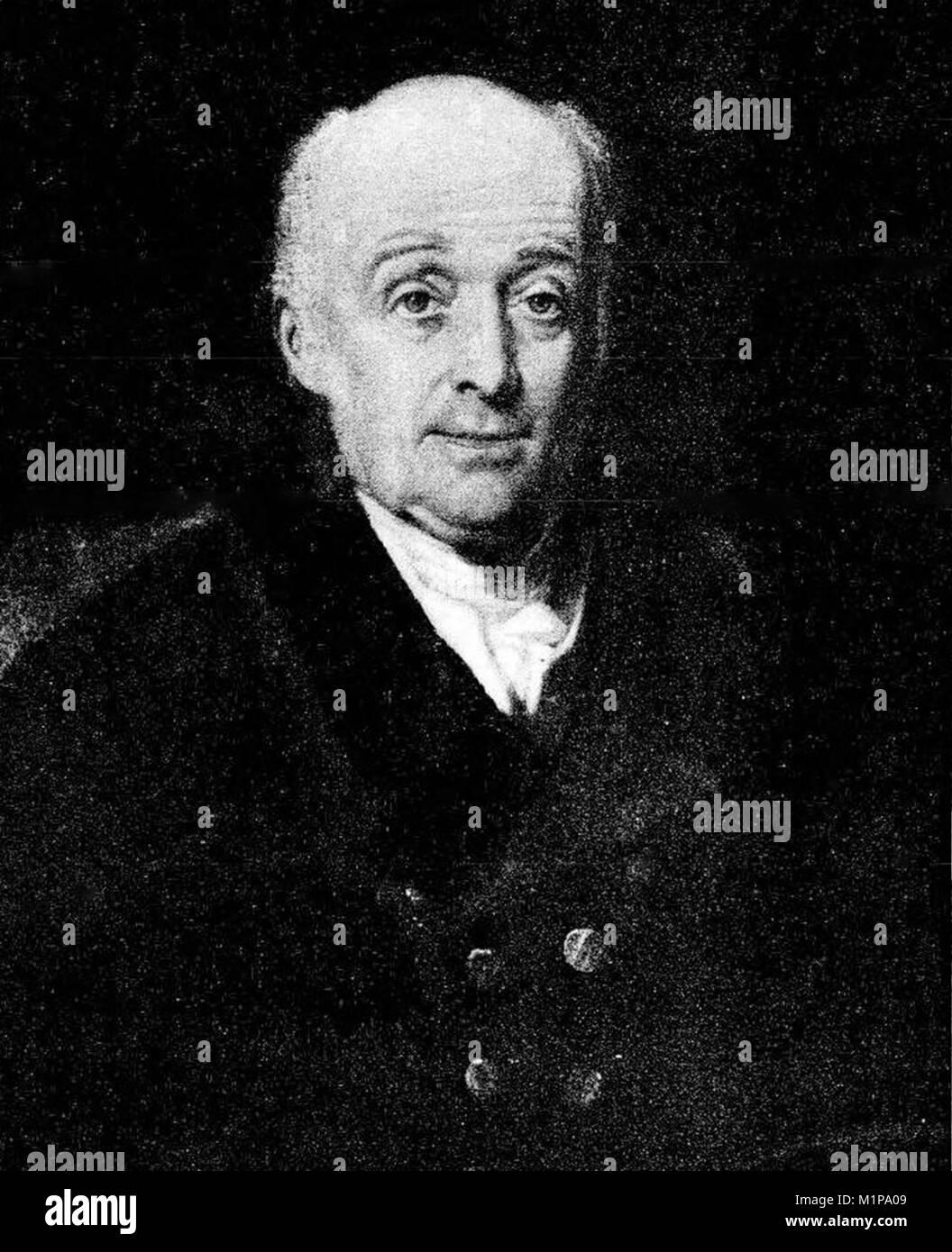William Lambton, Lieutenant-Colonel William Lambton, (1753 – 1823) British soldier, surveyor, and geographer who - Stock Image