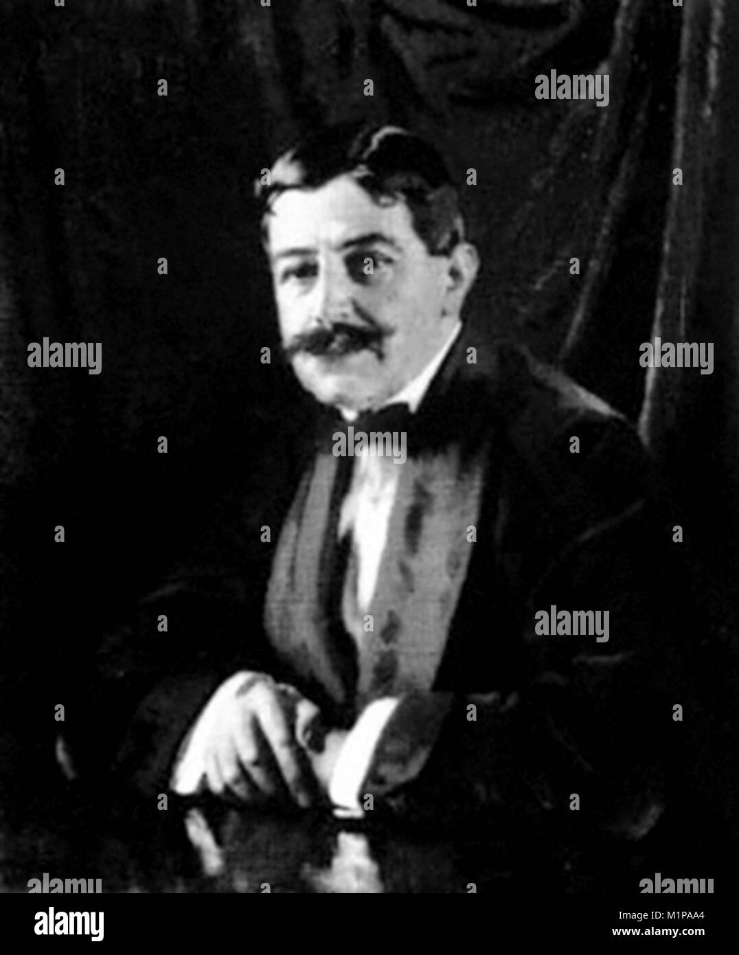 Sir Edgar Speyer, 1st Baronet (1862 – 1932) American-born financier - Stock Image