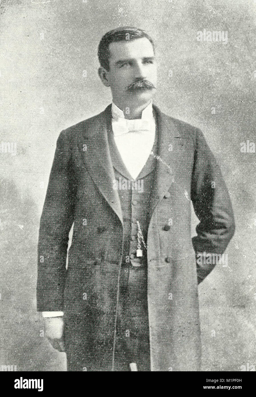 Jack Clifford, Union Leader charged with murder in the aftermath of the Homestead Strike of 1892 - Stock Image