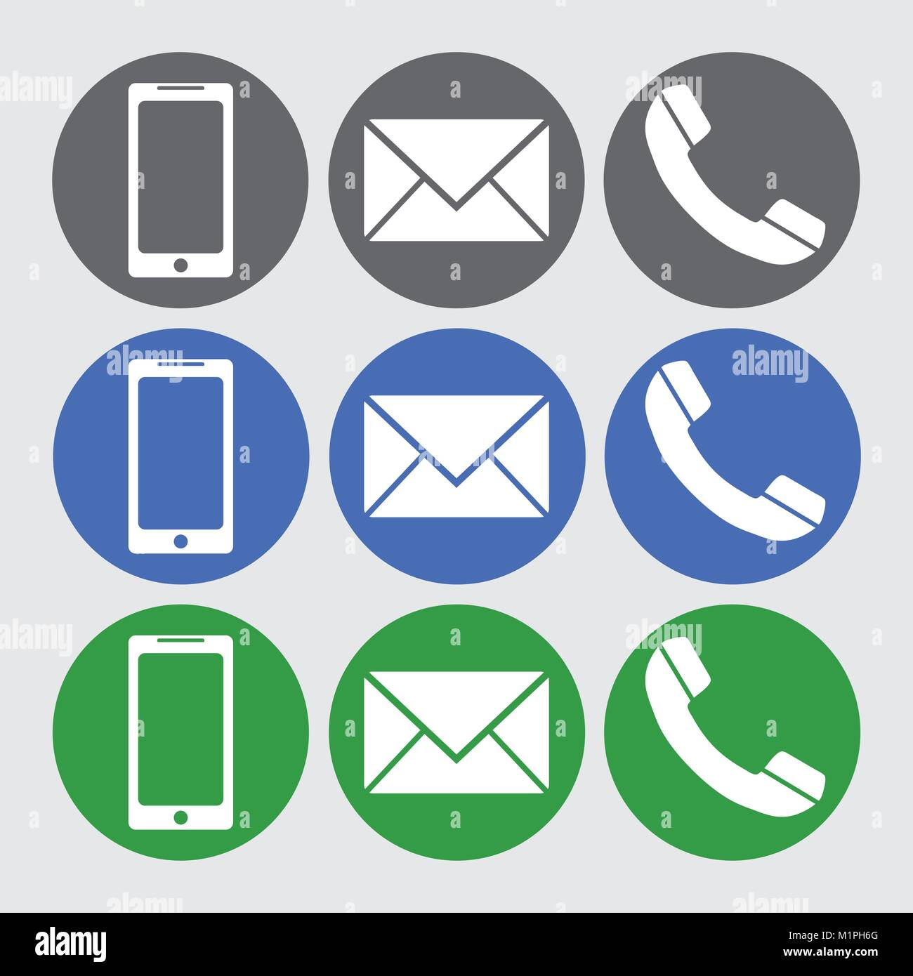 Icon phone mobile sms message telephone vector cell for Mobile telefono
