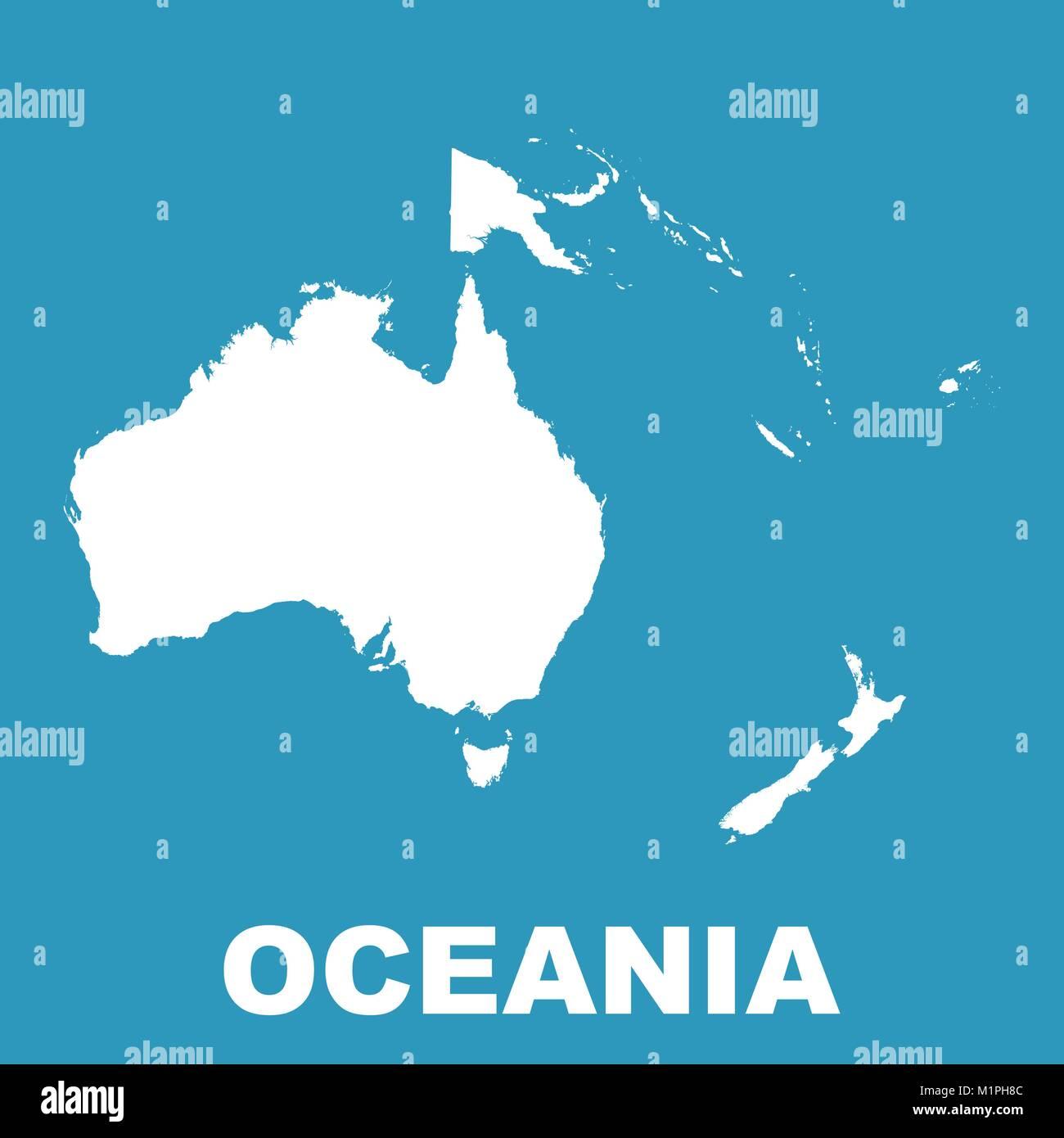 Australia Oceania: Oceania Map Stock Photos & Oceania Map Stock Images