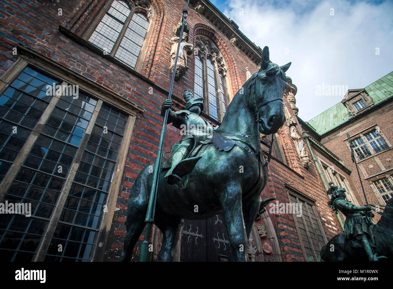 Bremen's first town Hall, Bremen, Germany. - Stock Image