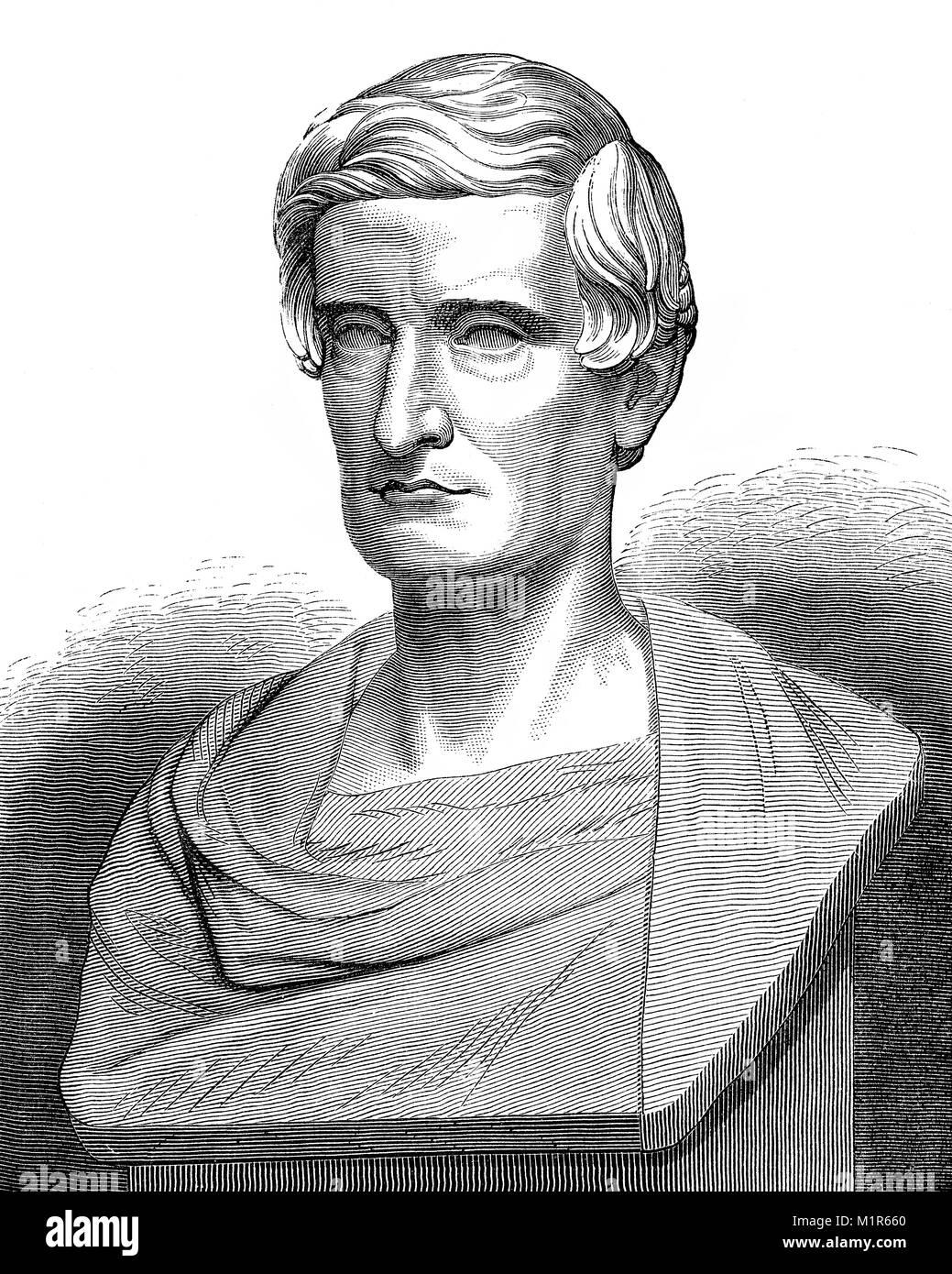 Pellegrino Rossi, 1787 – 1848, an Italian economist, politician and jurist. - Stock Image