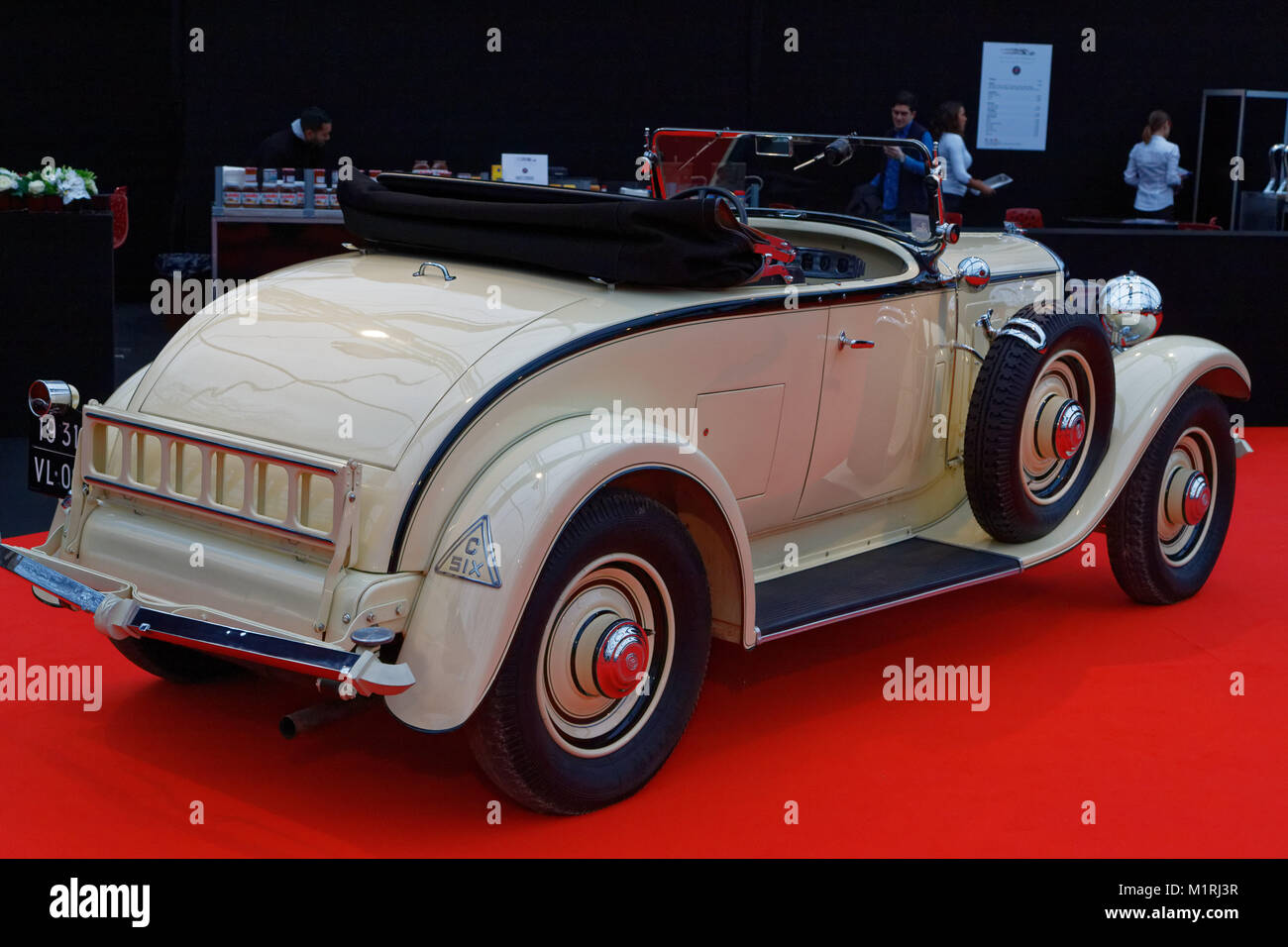 paris france 31st january 2018 citroen c6 cabriolet 1931 the stock photo 173237451 alamy. Black Bedroom Furniture Sets. Home Design Ideas
