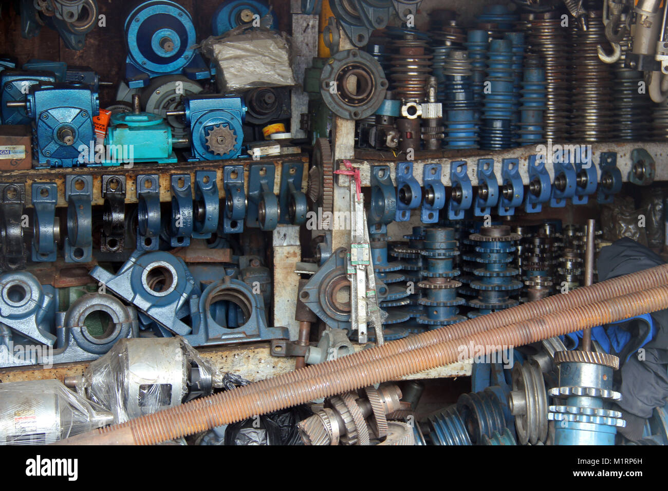 spare parts - Stock Image