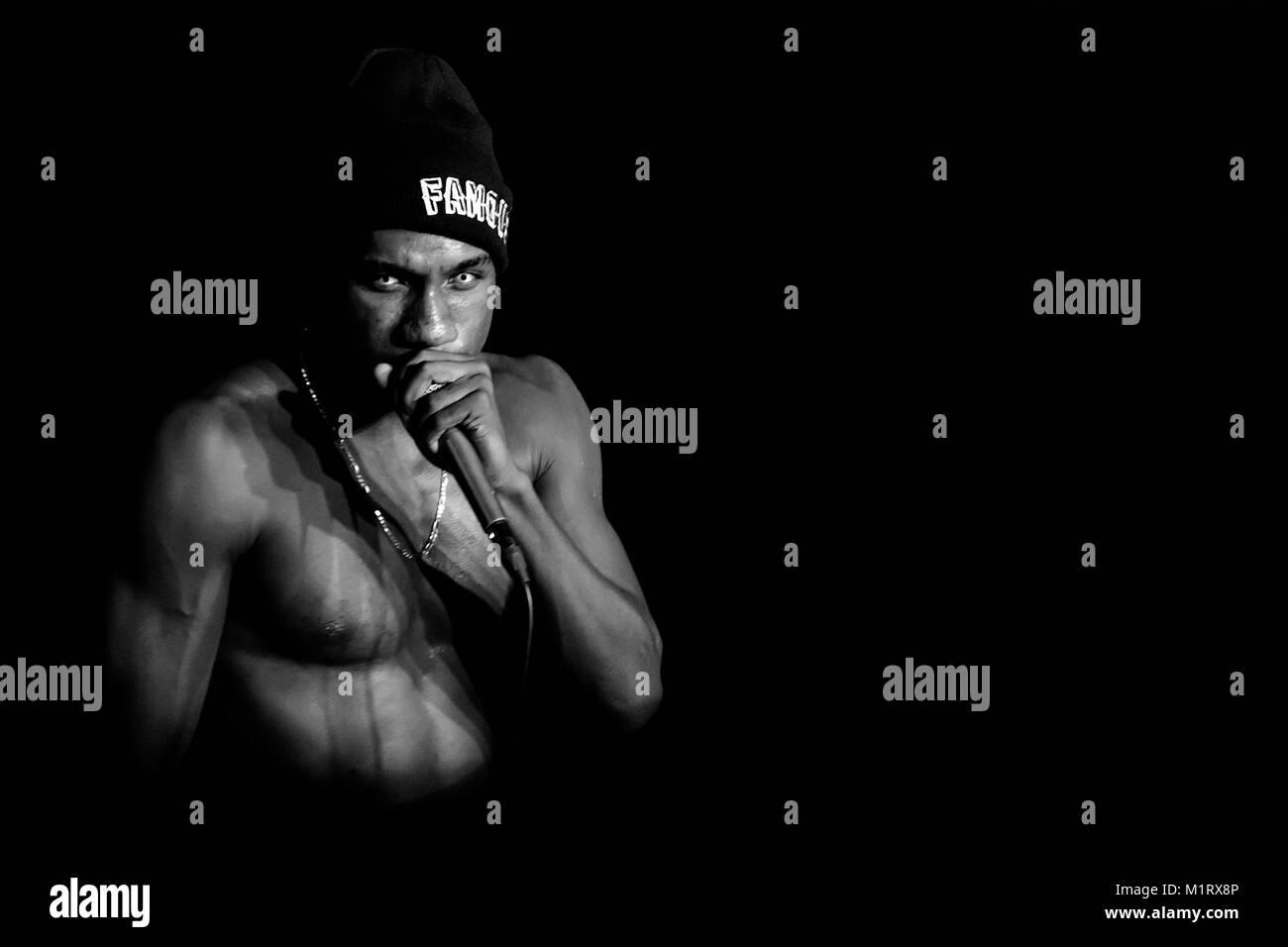 New Marcus Jamal Hopson Rapper Music Hopsin Star T-300 Silk Fabric Poster