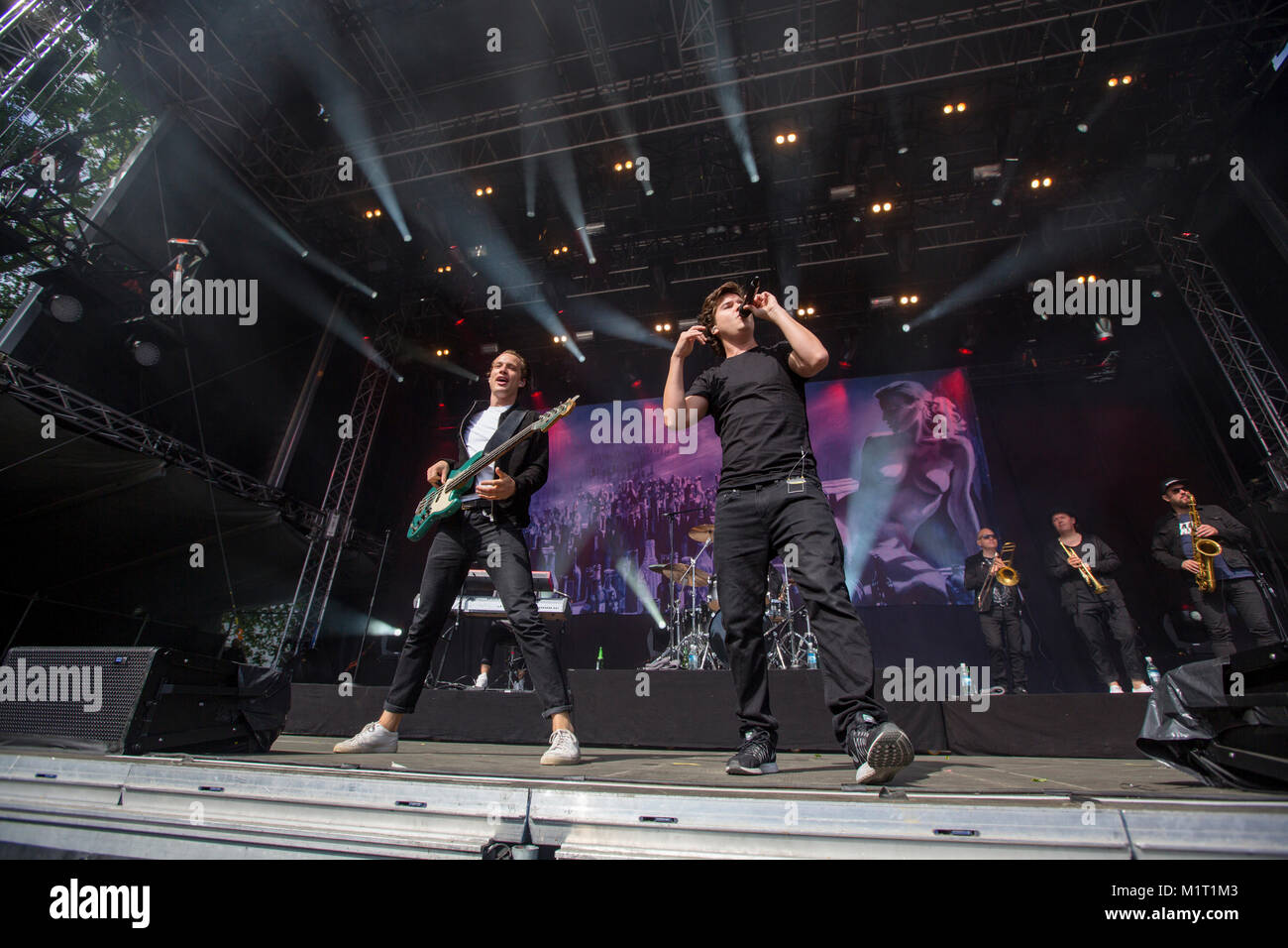 The Danish Band Lukas Graham Performs A Live Concert At The