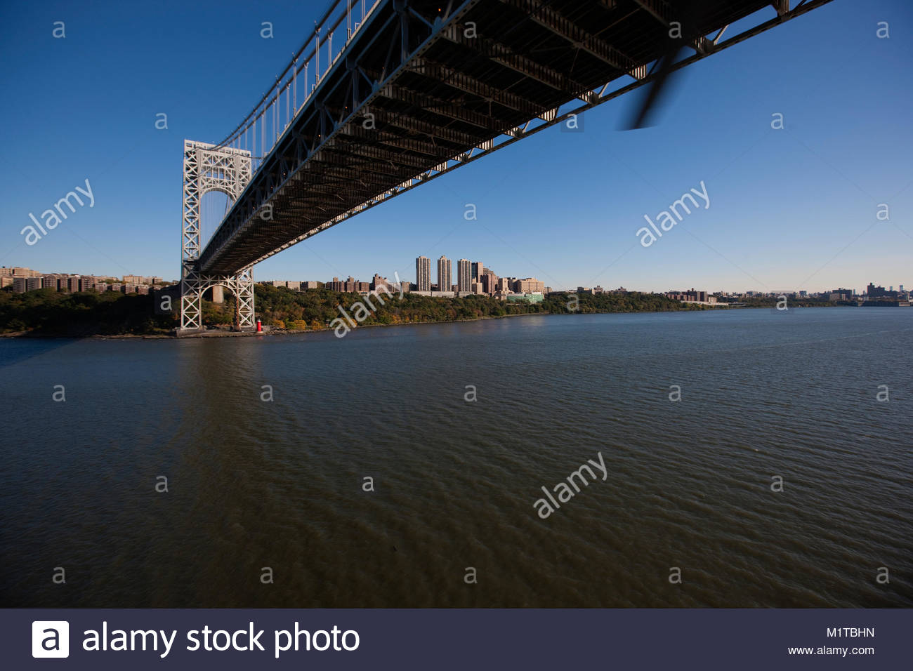 Fort Lee, New Jersey. - Stock Image