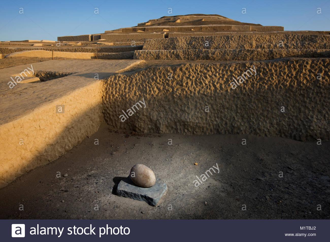 Cahuachi, Peru. - Stock Image