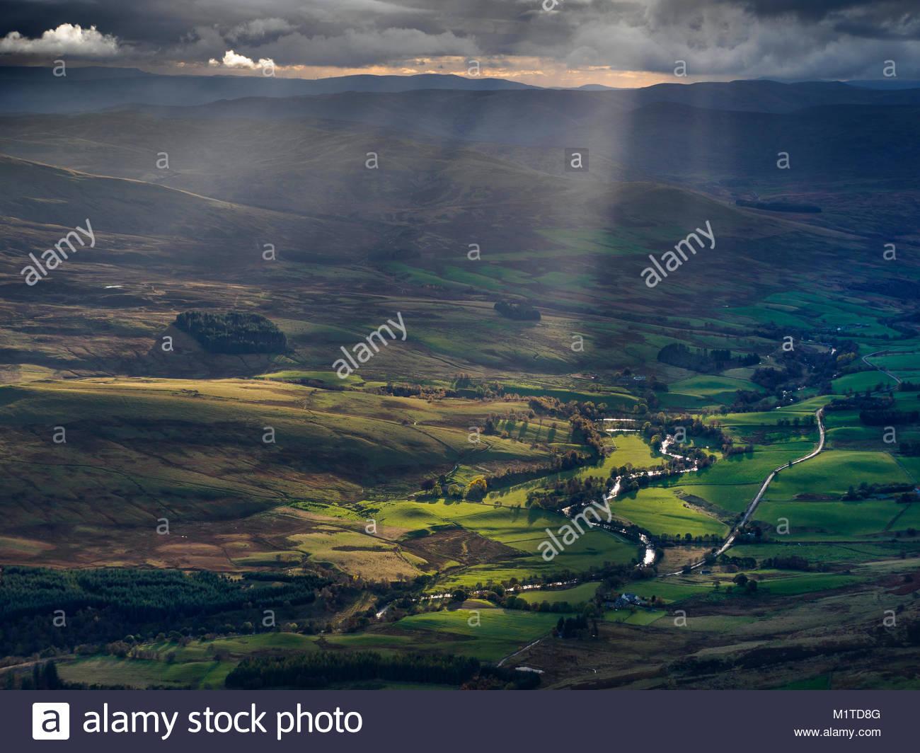 Cairngorms, Scotland, United Kingdom. - Stock Image