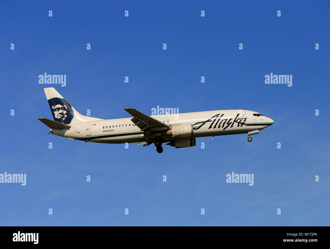 Alaska airlines stock photos alaska airlines stock images alamy anchorage usa may 17 2017 an aircraft boeing 737 of alaska airlines buycottarizona Choice Image