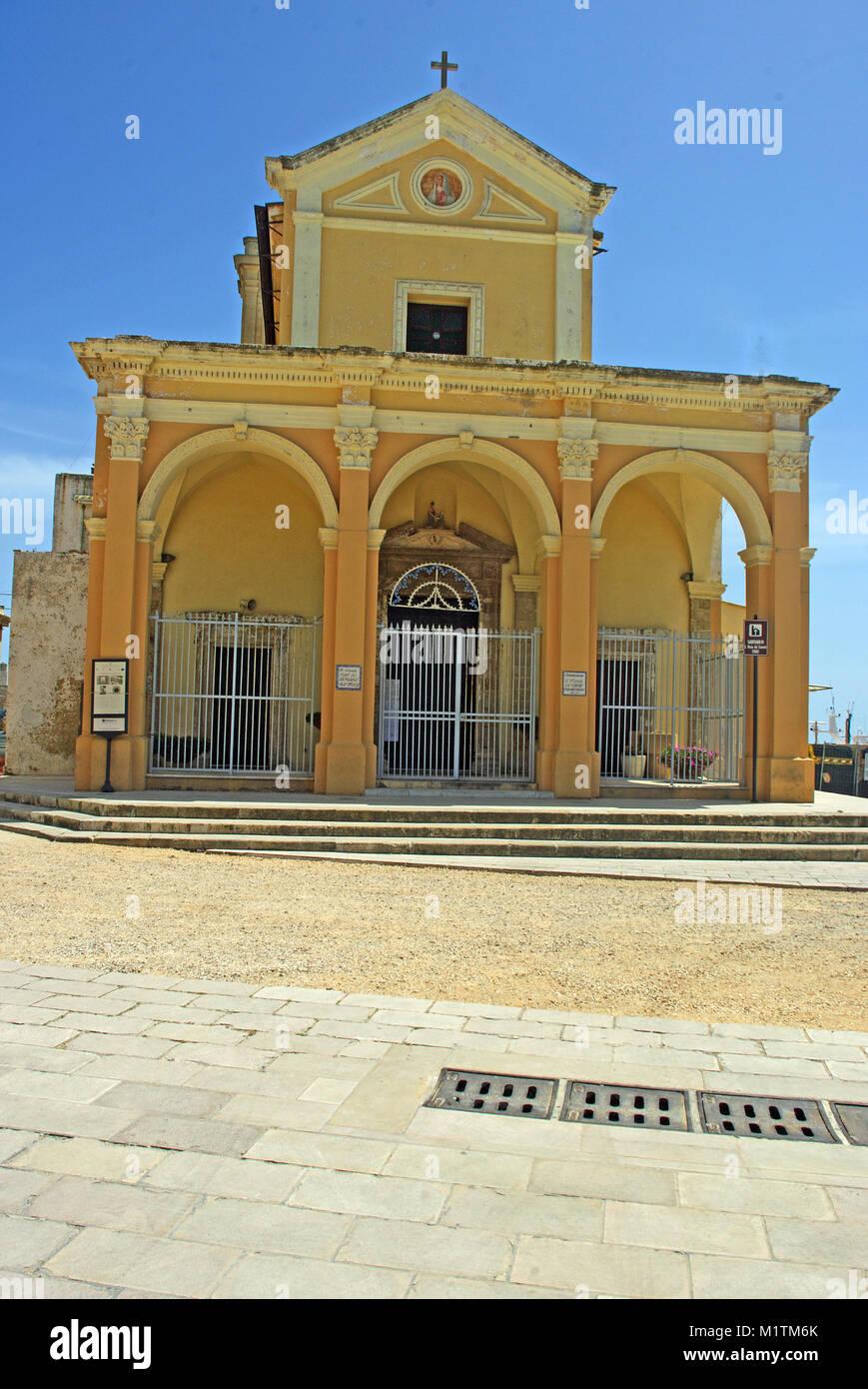 Santa Maria Del Bagno Pesche.Italy Puglia Gallipoli Santa Maria Stock Photos Italy Puglia