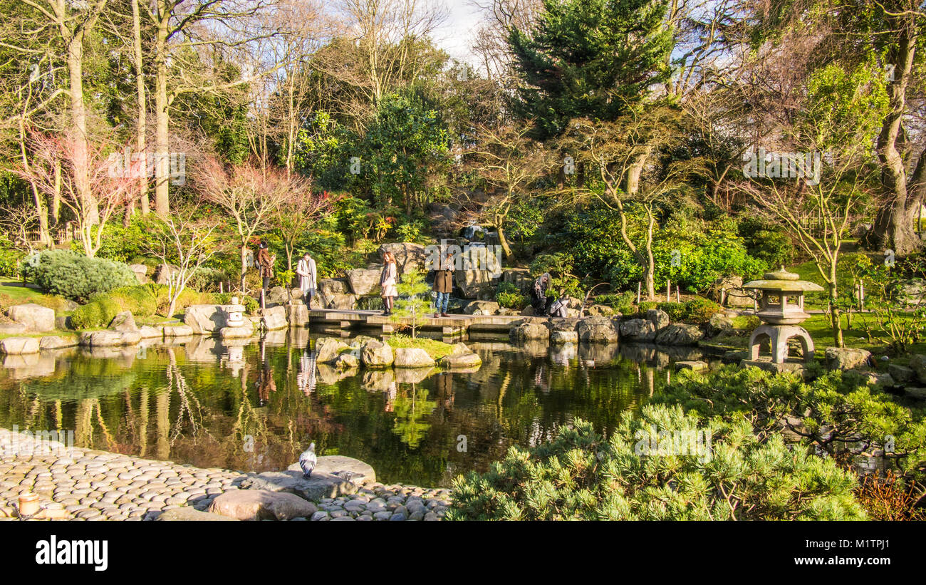 Kyoto Gardens Holland Park London Stock Photos & Kyoto Gardens ...