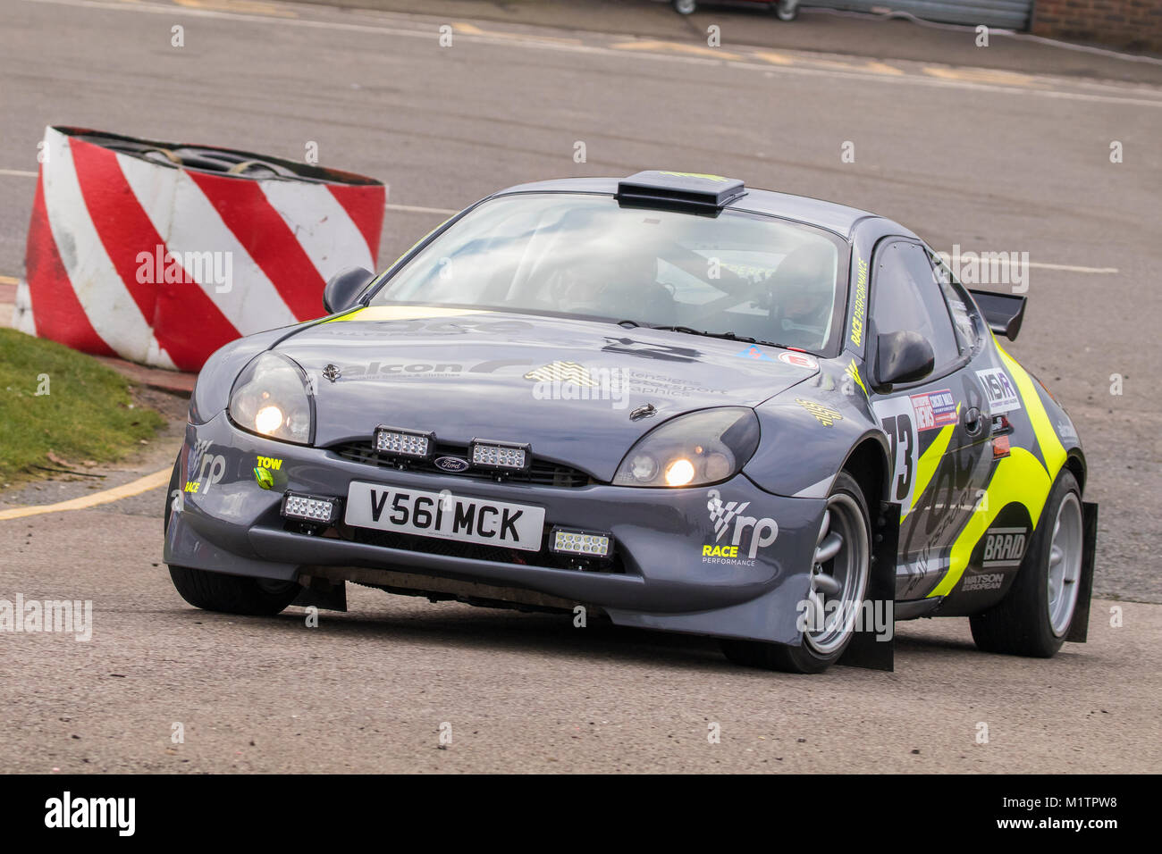 Ford Puma with driver Ryan Connolly and co-driver Craig Scoffings at the  Motorsport News 98988c875d