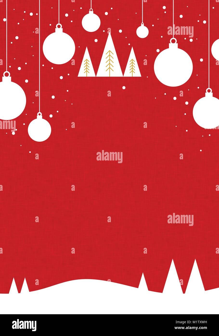 Christmas Leaflet Background.Vector Christmas Background For Design Card Banner Ticket