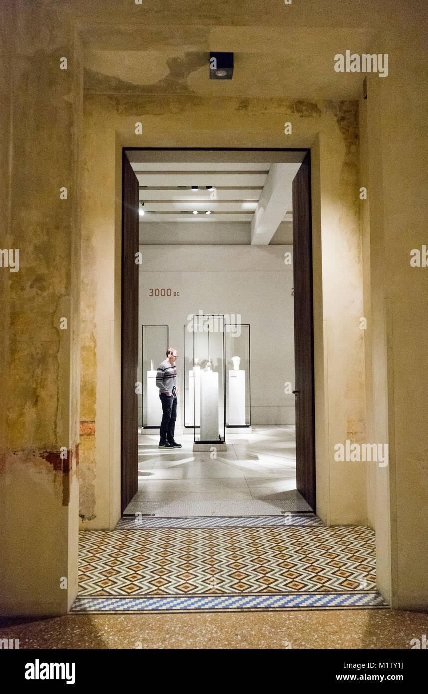 Gallery Space, Neues museum, David Chipperfield, Berlin, Germany Stock Photo