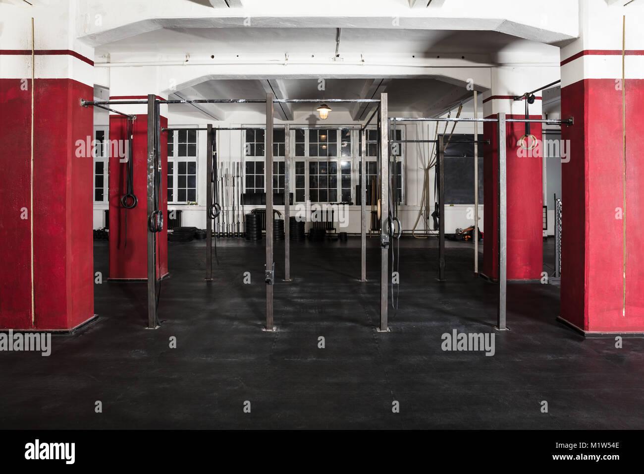Press room empty stock photos