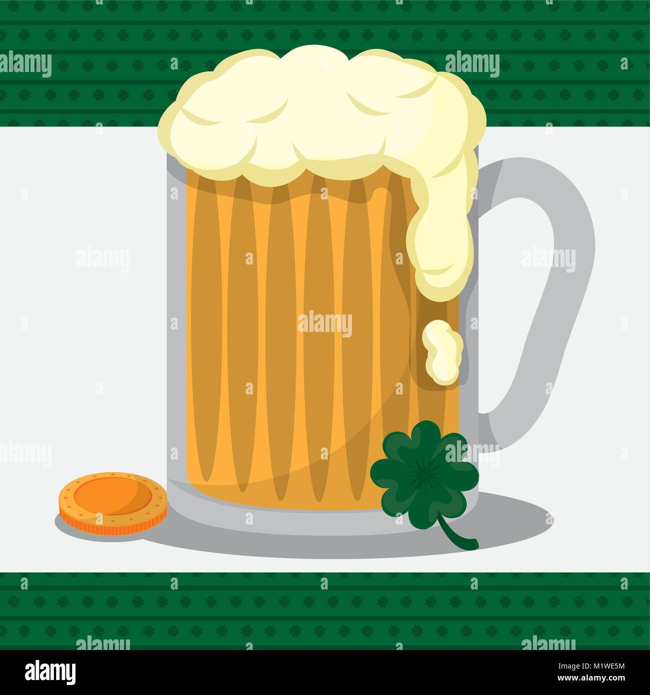 St Patricks day design - Stock Vector