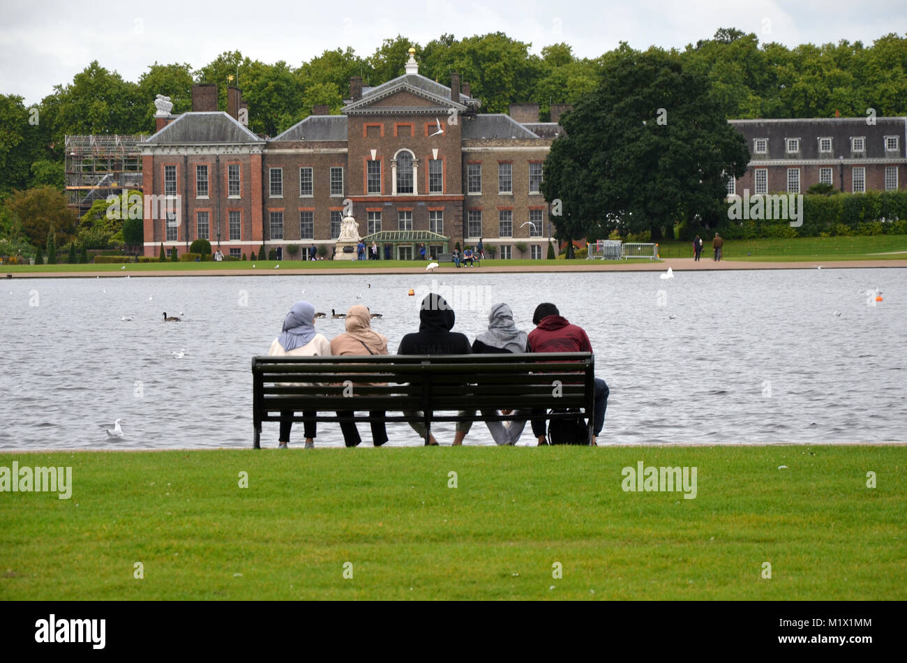 Kensington Palace, royal residence, Kensington Gardens, Royal Borough of Kensington and Chelsea, London, England - Stock Image