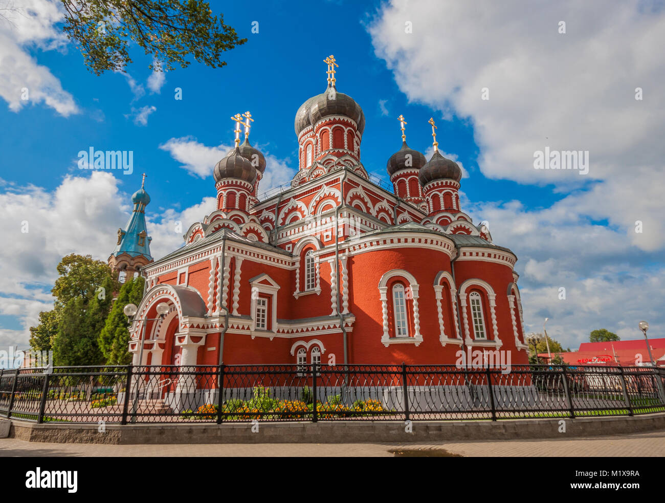 Minsk, Belarus - between Russia, Poland and Ukraine, this small state is a surprising mix of soviet heritage and - Stock Image