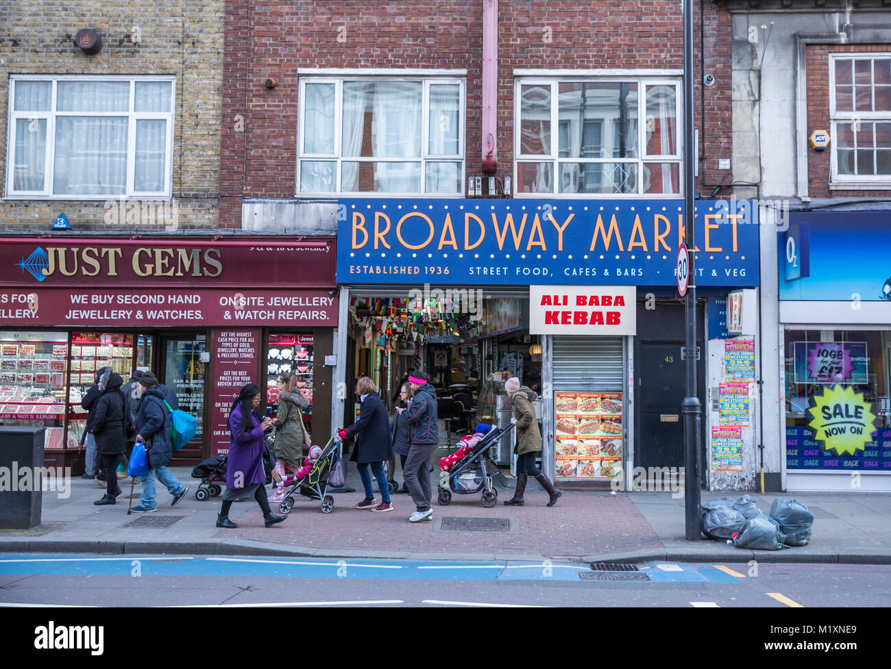 Tooting Broadway Market - Stock Image