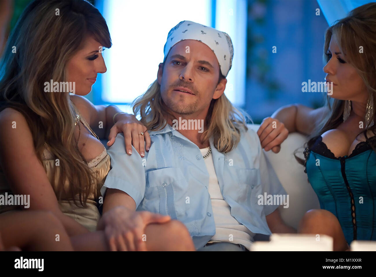 BUCKY LARSON; BORN TO BE A STAR 2011 Columbia Pictures film with Stephen Dorff - Stock Image