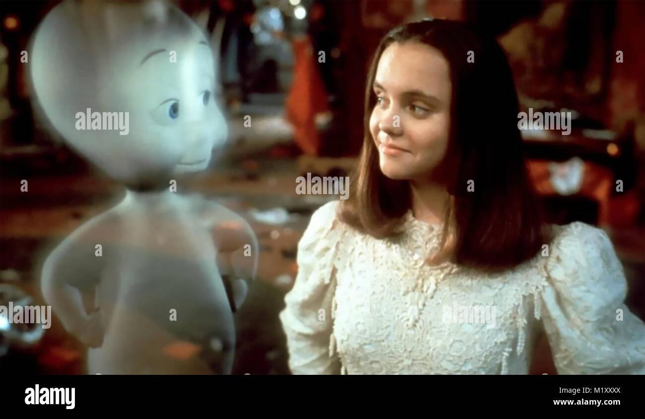 CASPER 1995 Universal Pictures film with Christina Ricci - Stock Image
