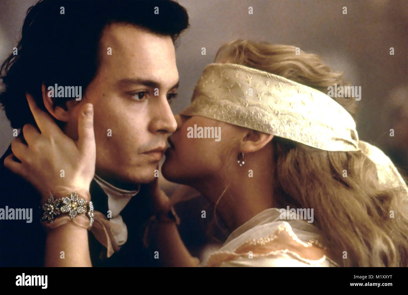 SLEEPY HOLLOW 1999 Paramount Pictures film with Christina Ricci and Johnny Depp - Stock Image