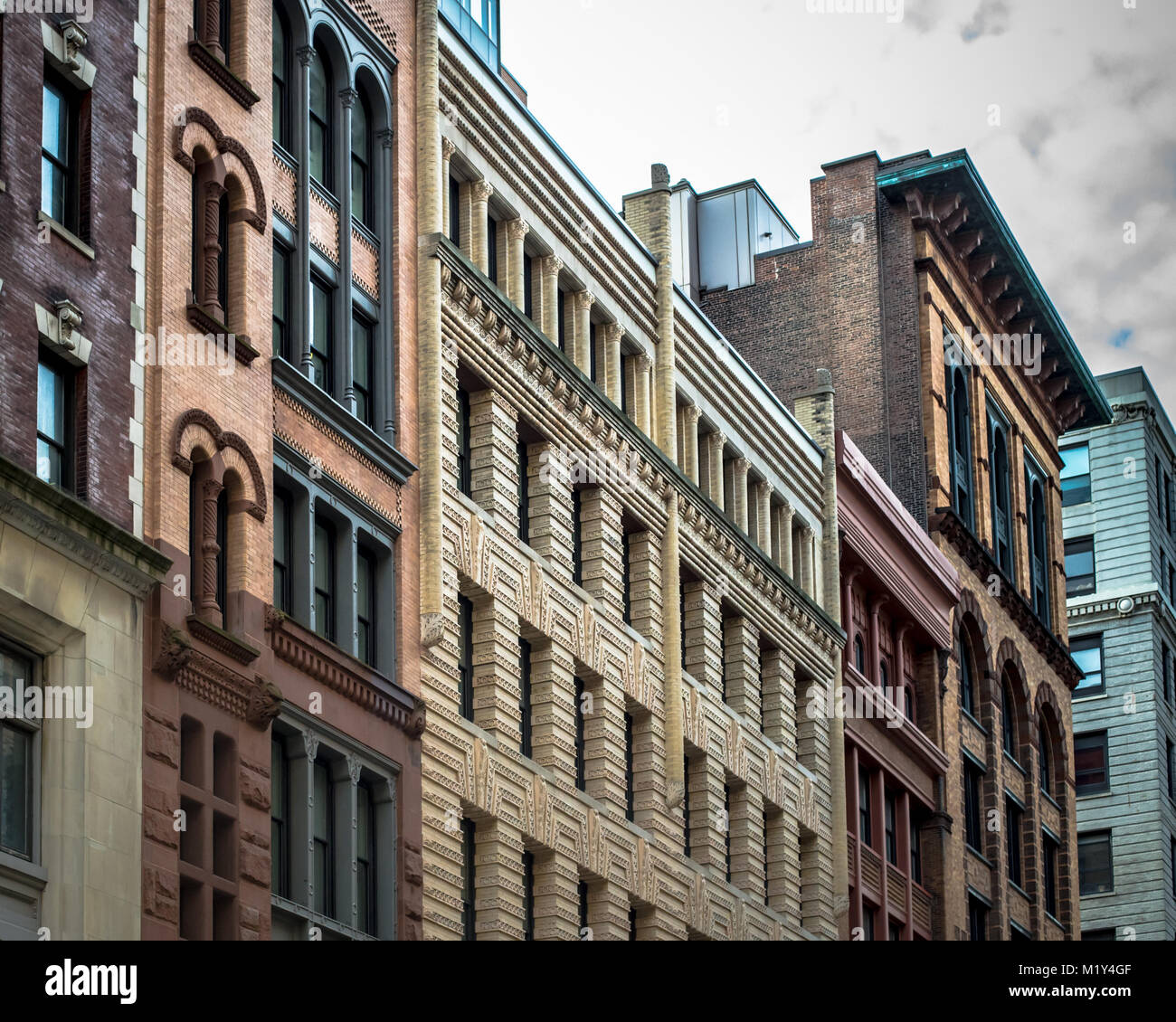 Brownstone Stock Photos & Brownstone Stock Images