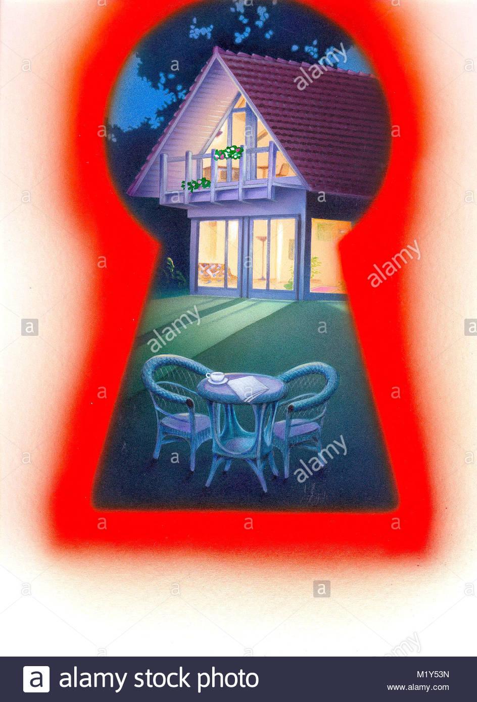 Schlsselloch House GARDEN FURNITURE