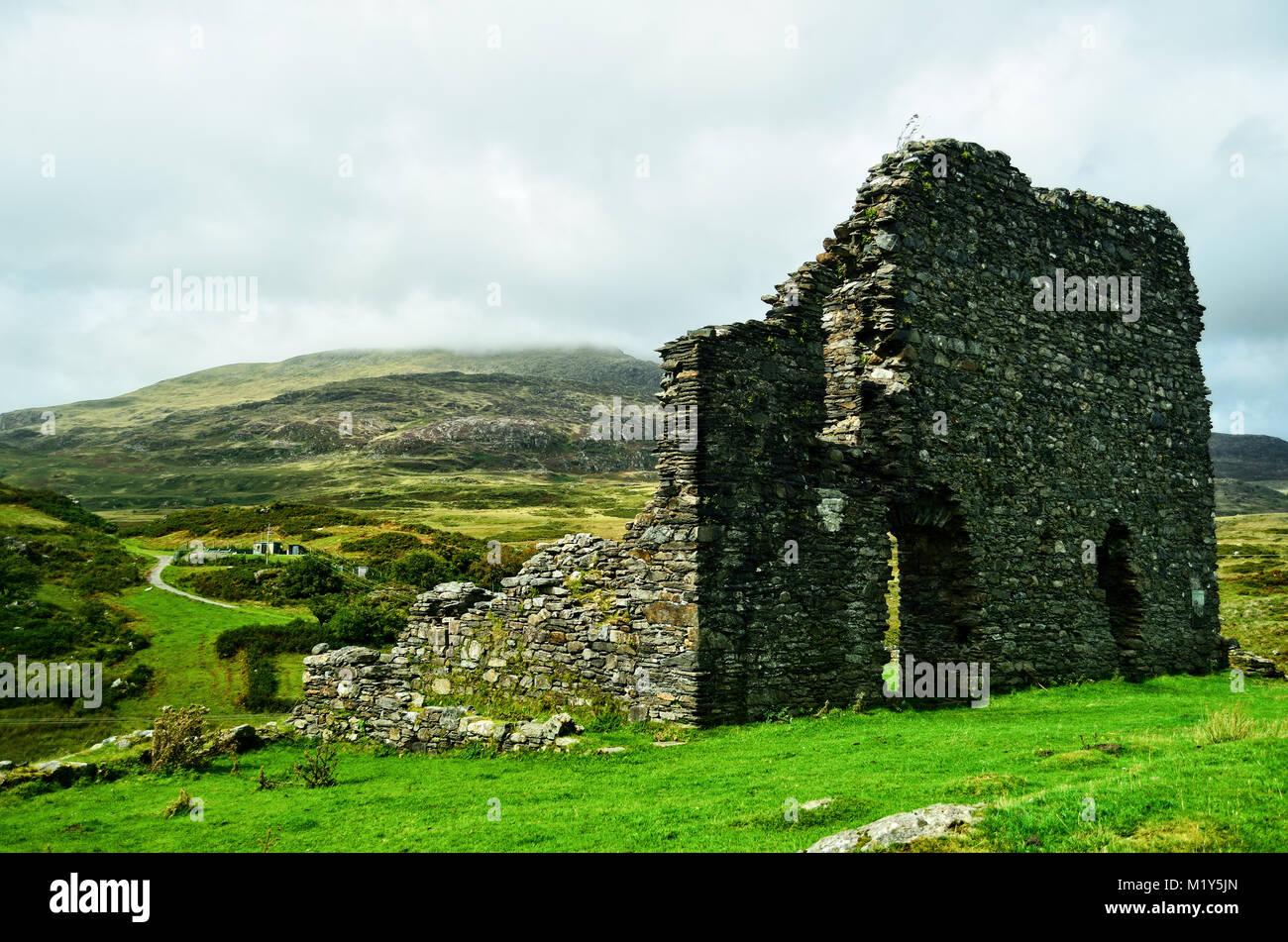Dolwyddelan Castle - Stock Image