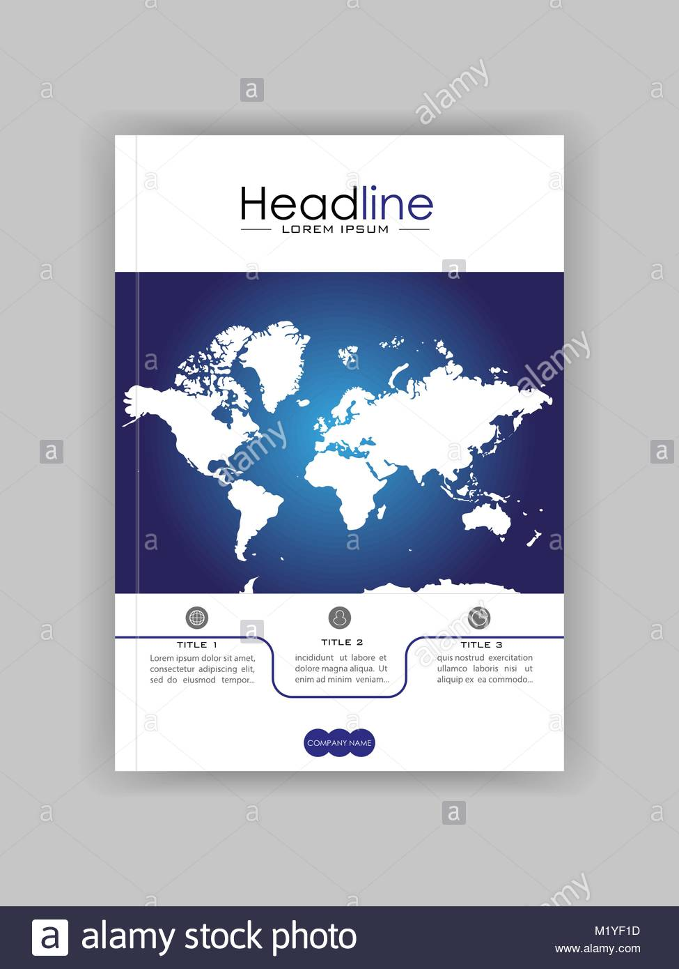 World map banner cover design book cover journal conference stock world map banner cover design book cover journal conference annual report design vector gumiabroncs Image collections