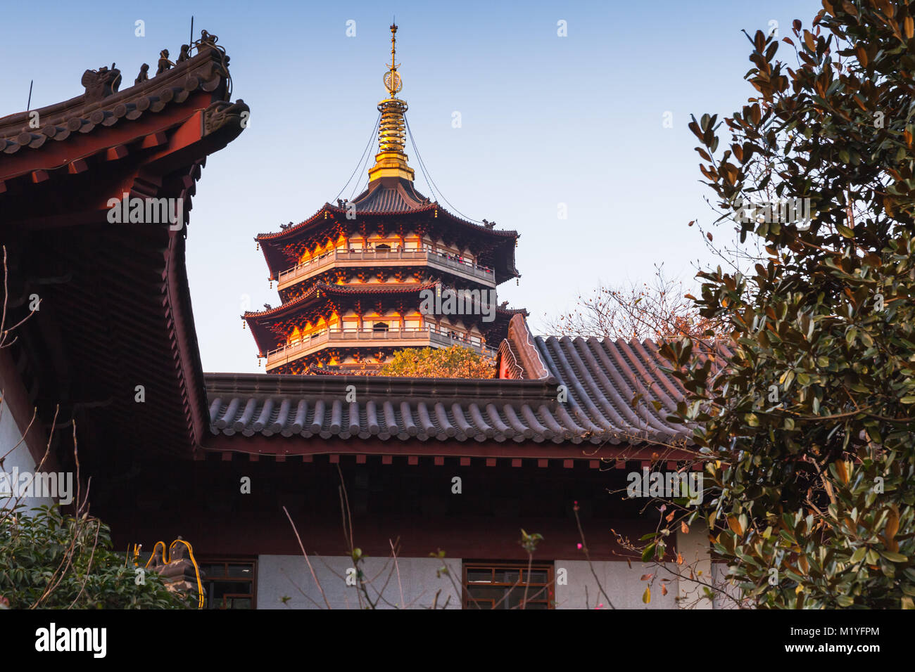 Ancient Architecture Hangzhou China Stock Photos Ancient