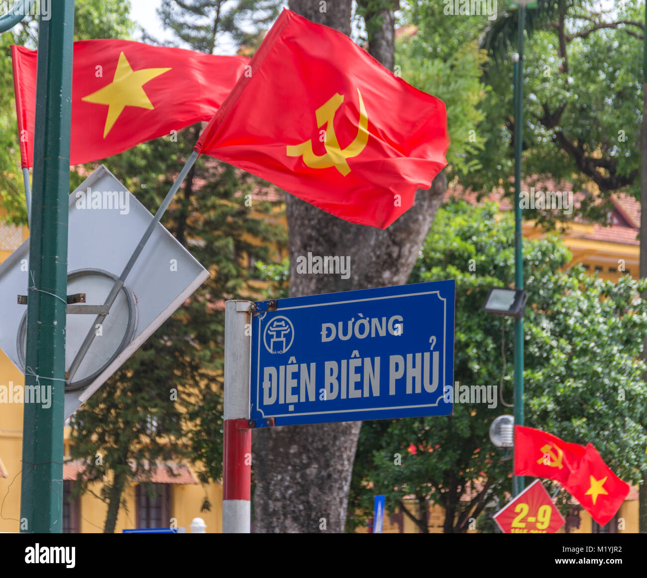 Vietnamese Street Sign High Resolution Stock Photography And Images Alamy