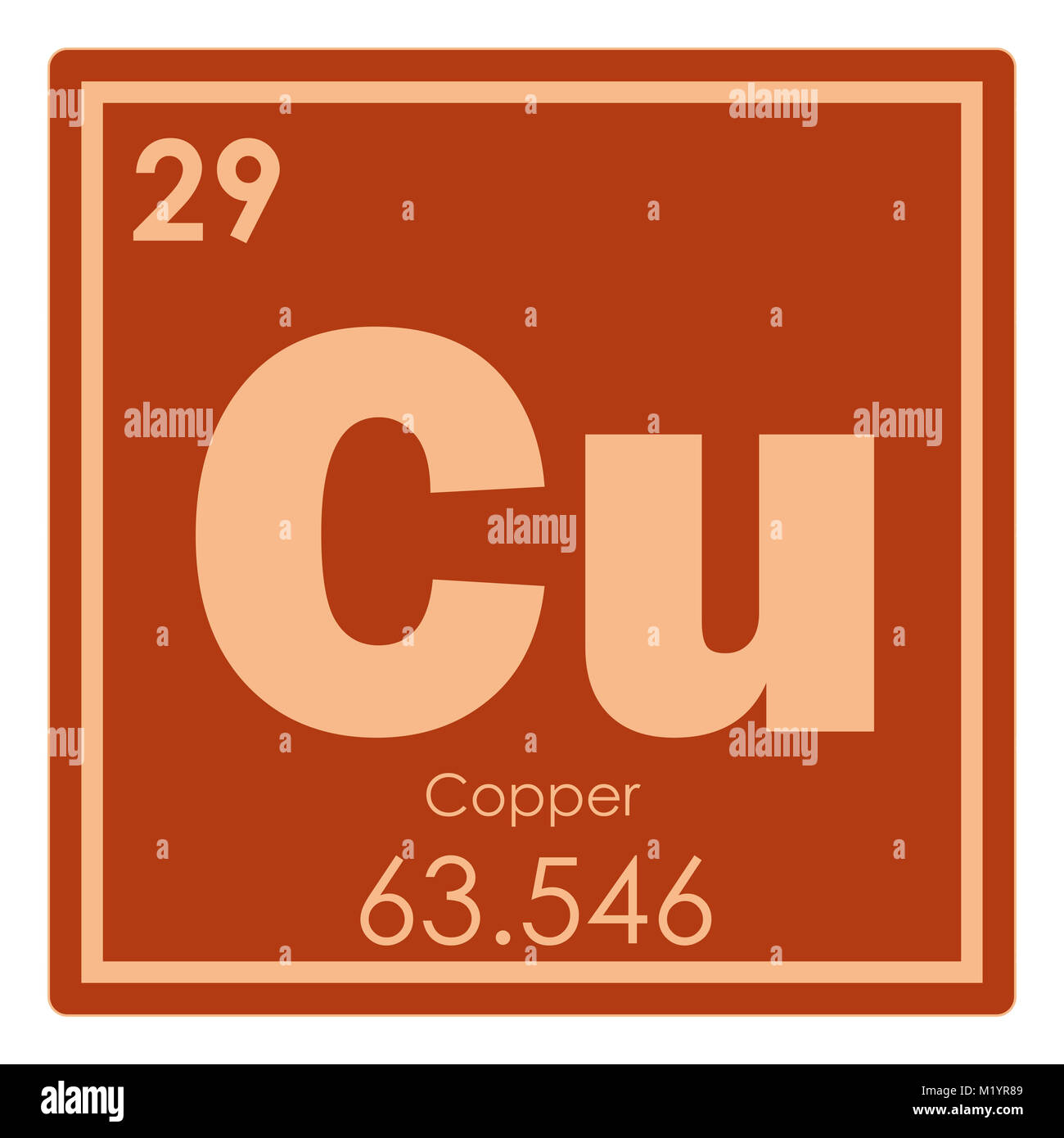 Copper Atom Stock Photos Copper Atom Stock Images Alamy