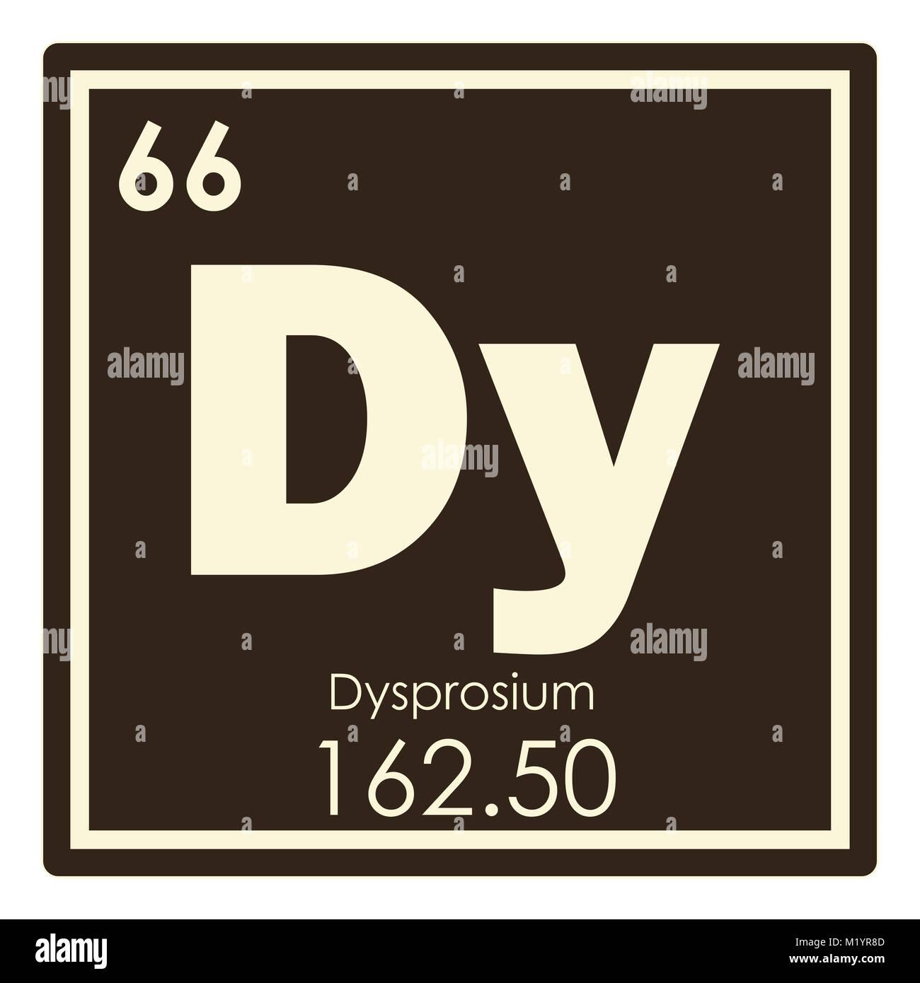 Dysprosium Chemical Element Stock Photos Dysprosium Chemical