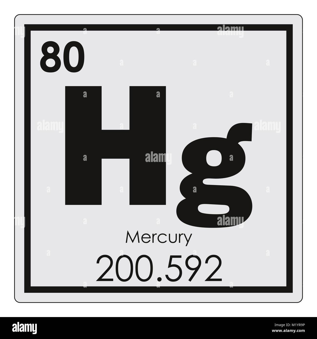 Mercury chemical element periodic table science symbol stock photo mercury chemical element periodic table science symbol urtaz Gallery