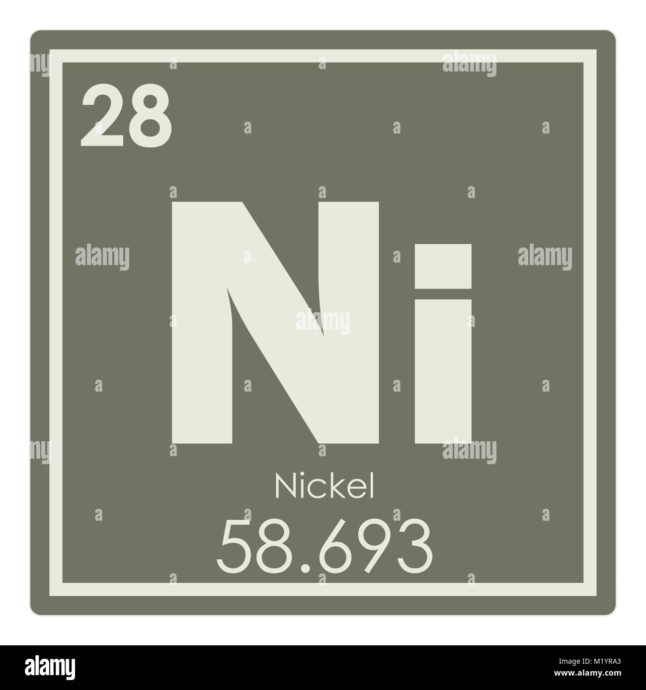 Nickel Chemical Element Stock Photos Nickel Chemical Element Stock