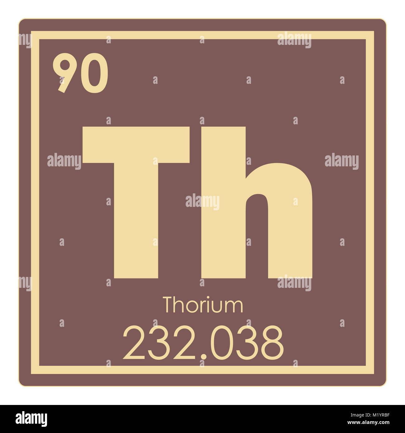 Thorium Chemical Element Stock Photos Thorium Chemical Element