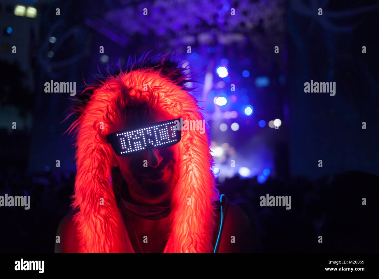 Dance Freak - Stock Image
