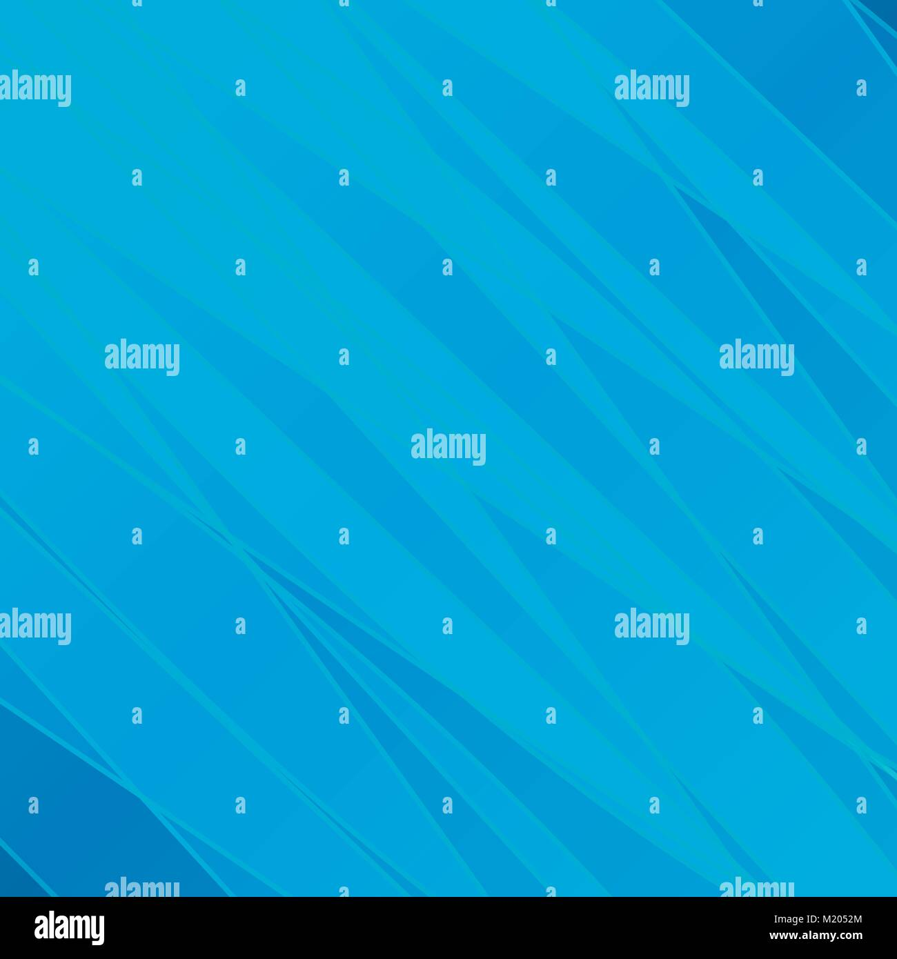 Smooth translucent lines on a blue background. Stock Vector