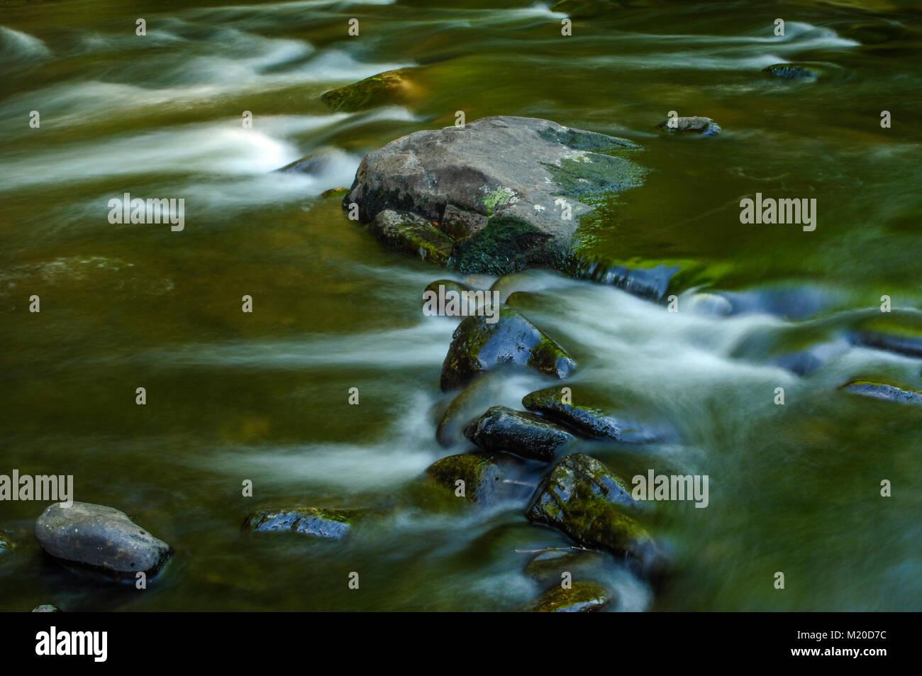 West Branch, Sacandaga River, Silver Lake Wilderness Area, Adirondack Forest Preserve, New York - Stock Image