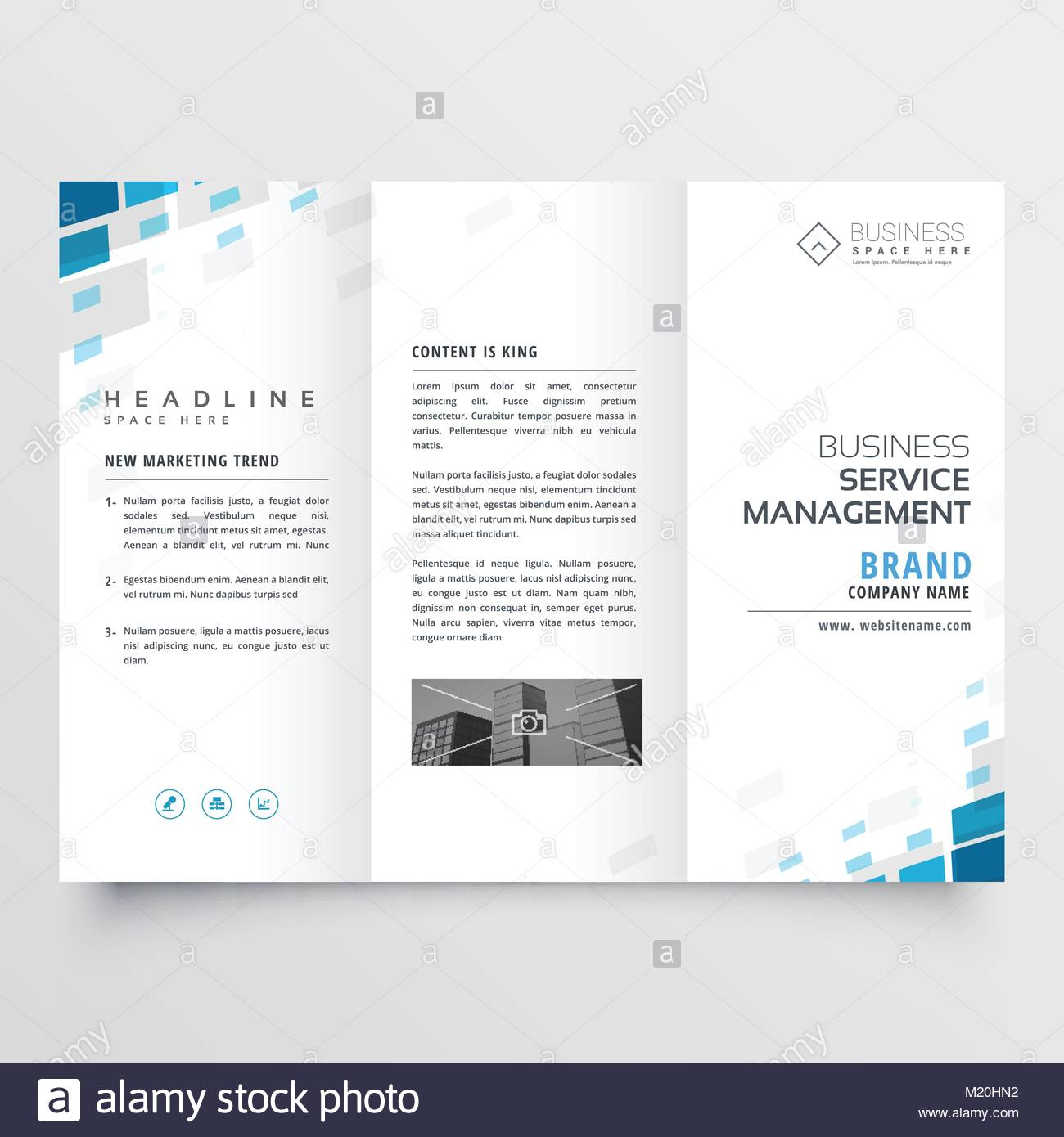 Simple trifold business brochure template design stock vector art simple trifold business brochure template design wajeb Images