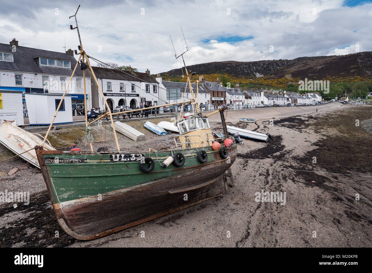 Ullapool on the west coast of Scotland. UK - Stock Image