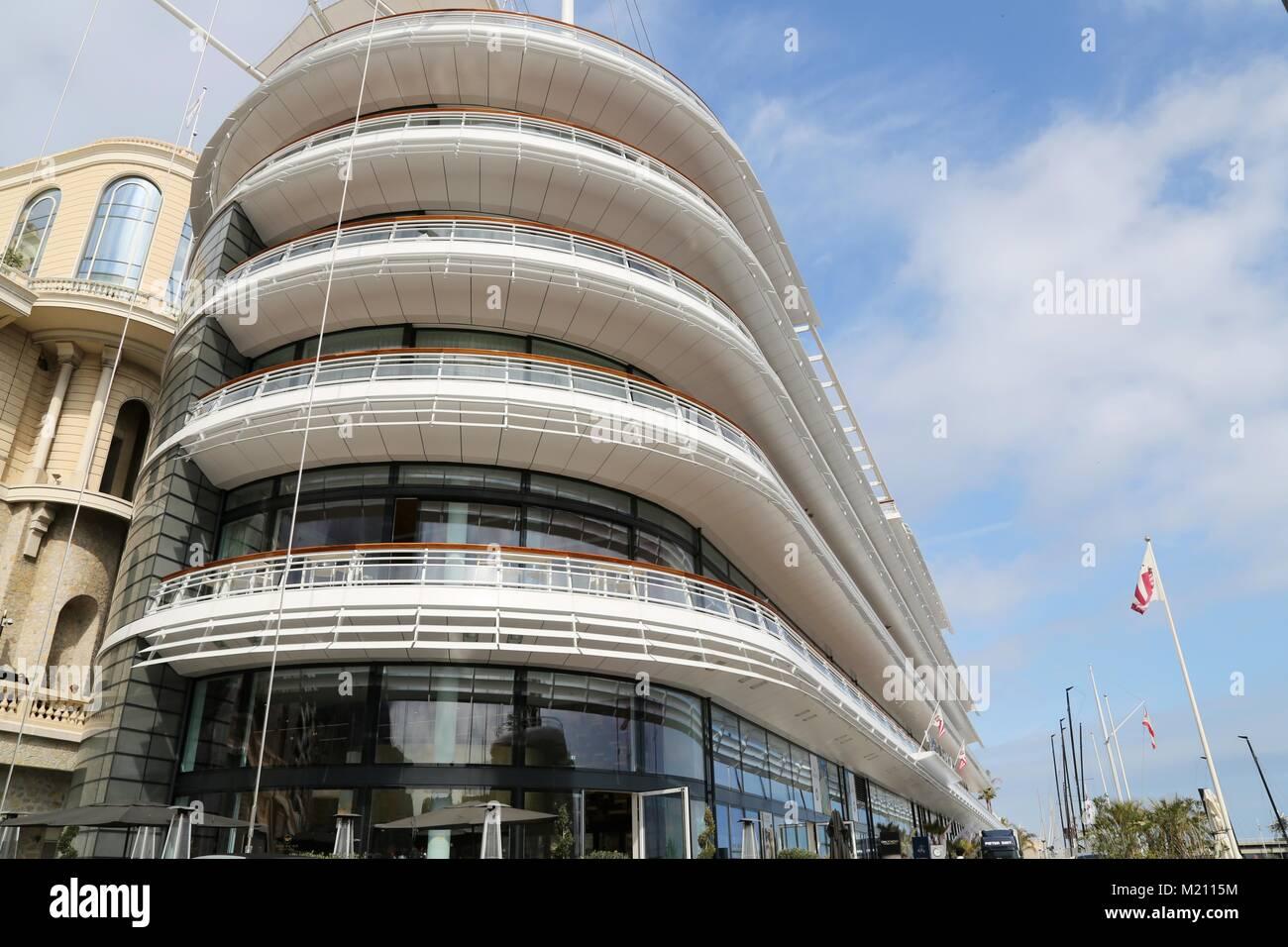 Building in Monaco Stock Photo