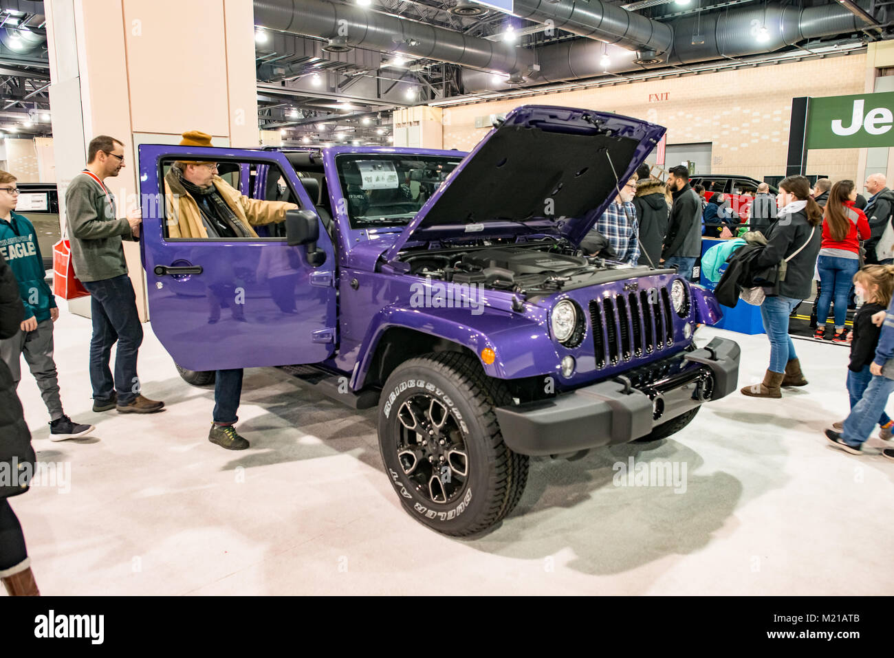 Philadelphia Auto Show Stock Photos Philadelphia Auto Show Stock - Philadelphia car show 2018