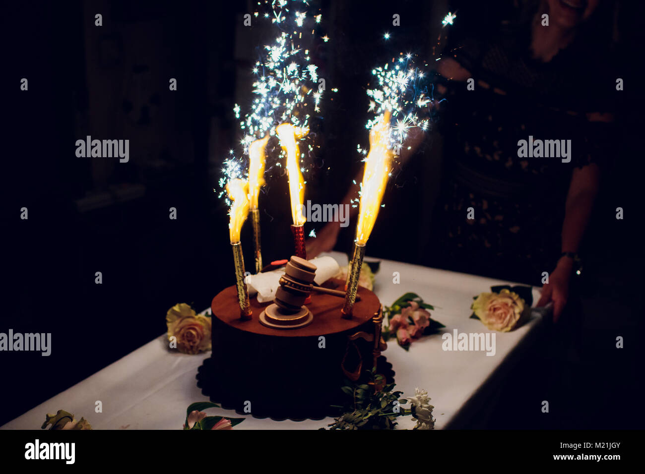 Table Fireworks Stock Photos Table Fireworks Stock Images Alamy